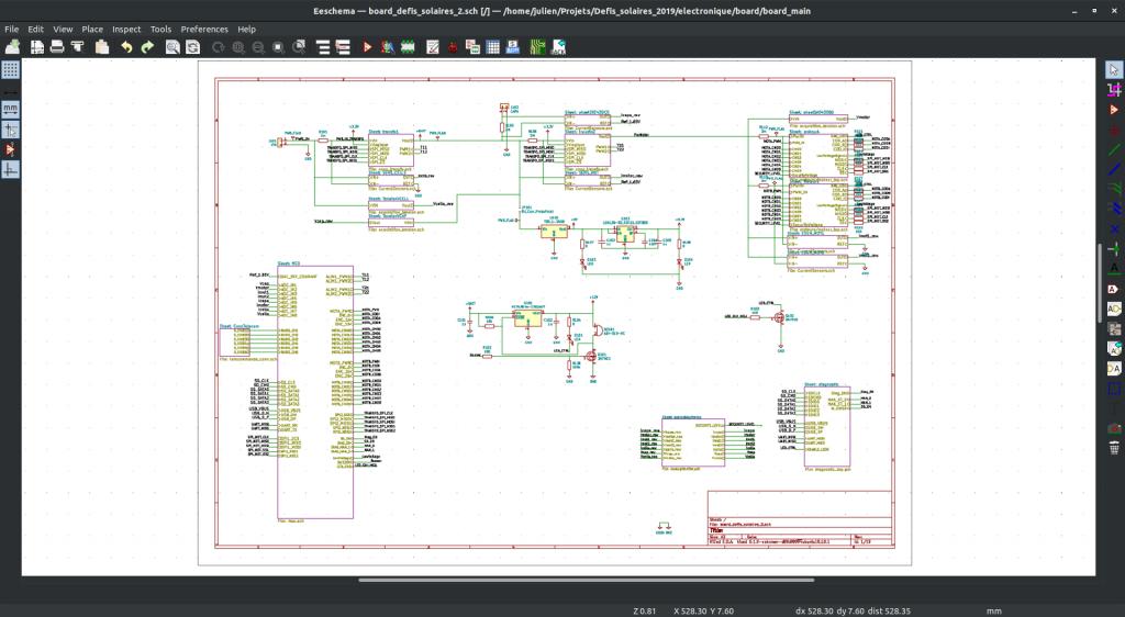 EEschema, le logiciel de conception électronique
