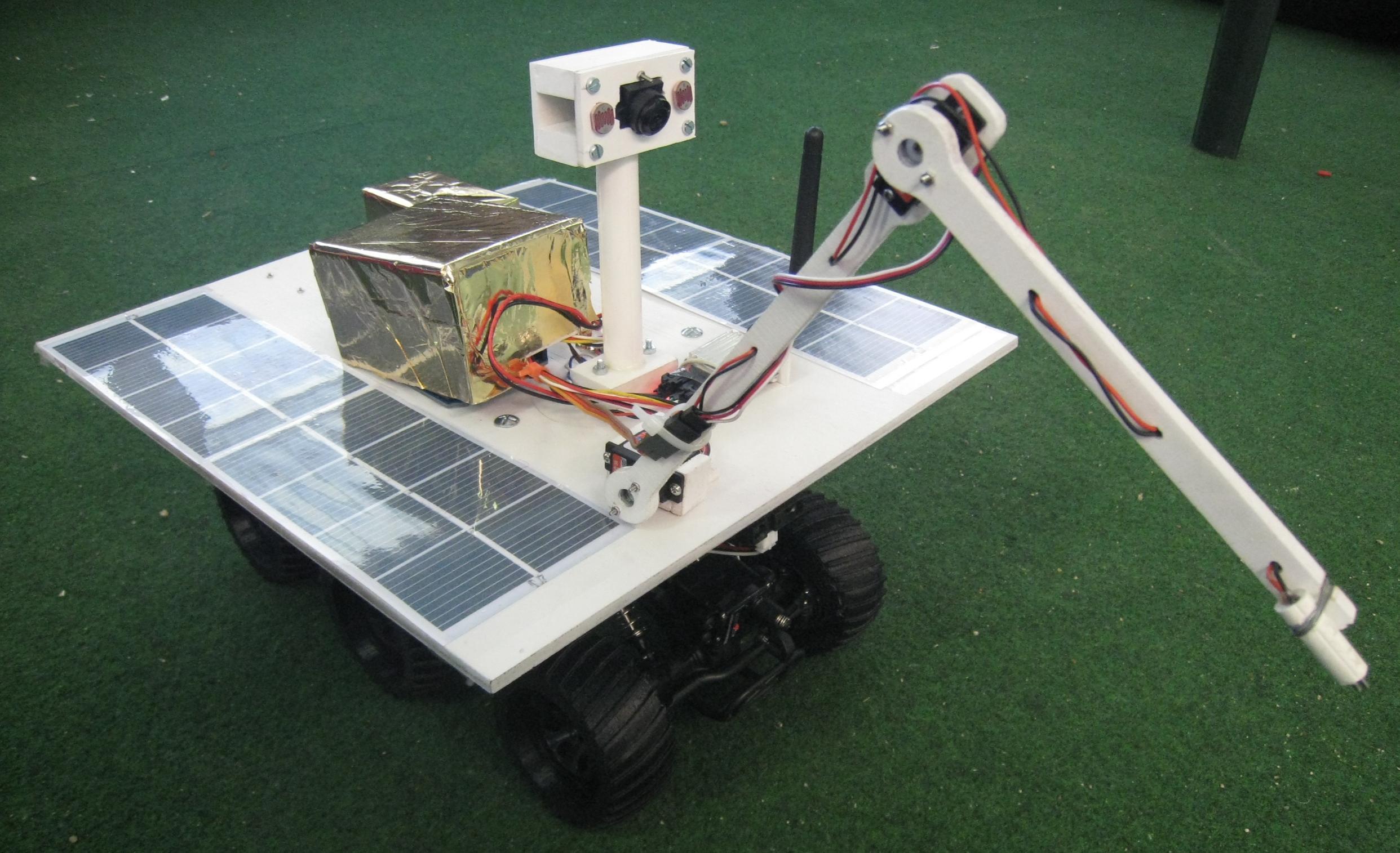 Robot d'exploration planétaire