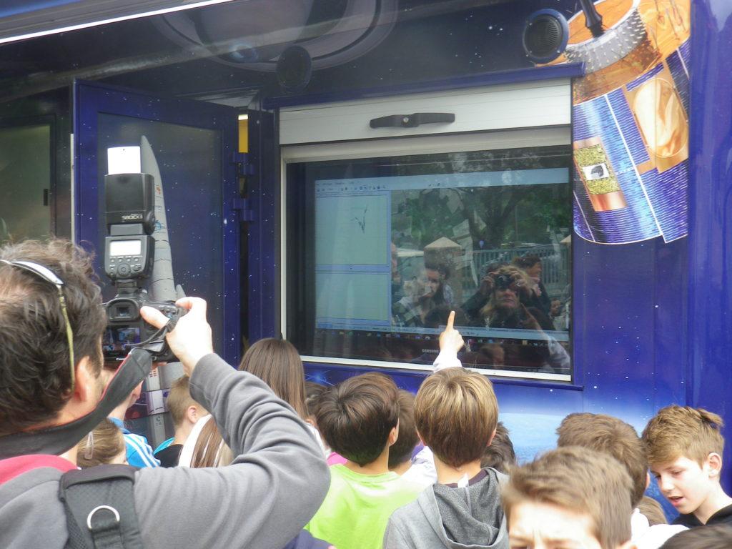 Transmission des données à distance de la nacelle au Spatiobus (Télémesure)