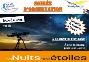 Nuit des Etoiles à Ramonville @ Salle Paul Labal | Ramonville-Saint-Agne | Languedoc-Roussillon Midi-Pyrénées | France