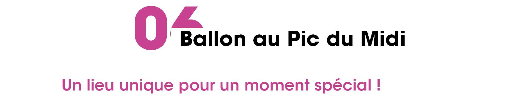 6 ballon Pic du Midi