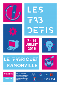 LES FABDEFIS par le F@bRiquet - ESOF 2018 et Festival Science in the City @ Le F@bRiquet | Ramonville-Saint-Agne | Occitanie | France