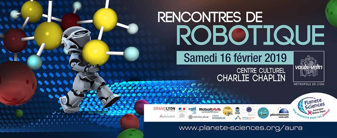 Les Rencontres de robotique approchent à grands pas !