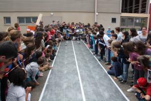 """""""piste de compétition"""" pour véhicule solaire"""