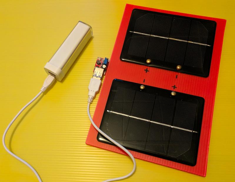 Atelier Chargeur solaire