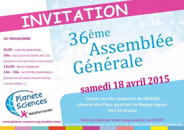 Invitation AG 2015 PSM