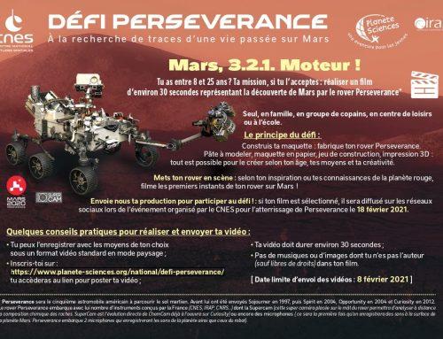 A suivre atterrissage du rover le 18 février sur Mars