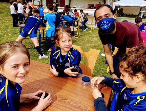 Ateliers « Petites bêtes » avec l'Ecole de rugby de Ris-Orangis