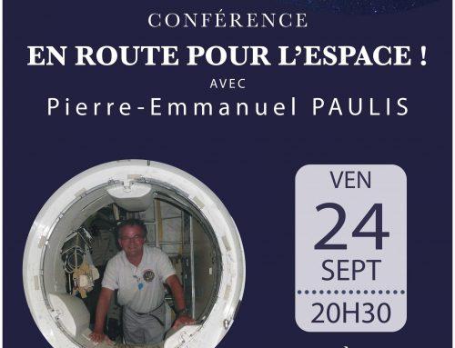 Conférence En route pour l'Espace à Biscarrosse (40)